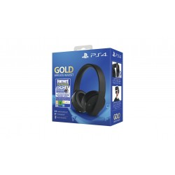 Sony Gold Wireless Headset Fortnite VCH 2019 auricolare Padiglione auricolare Stereofonico Nero 9960003