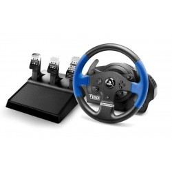 Thrustmaster T150 PRO ForceFeedback Sterzo Pedali PC,PlayStation 4,Playstation 3 Nero, Blu 4160696