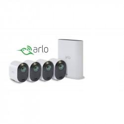 Arlo Ultra KIT 4 Telecamere di Sicurezza 4K Pannello Solare Omaggio