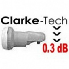 Clarke-tech Antenna Tv Digitale Lnb Single 0.3 dB 28192