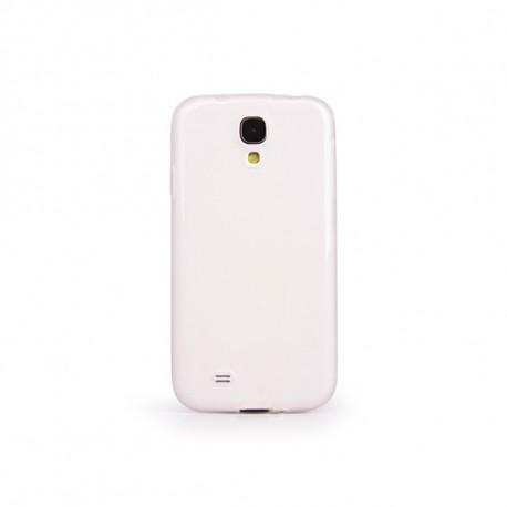 Miracase Custodia Bianca Trasparente in TPU per Samsung Galaxy S4 I-SAM4-TT-WH