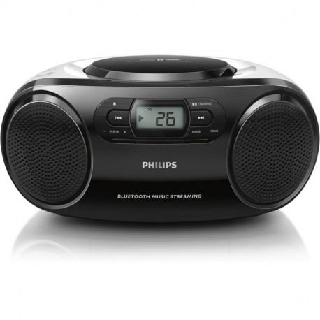 Philips Radio Cd Player AZ330T Bluetooth con Porta USB Nero-RICONDIZIONATO